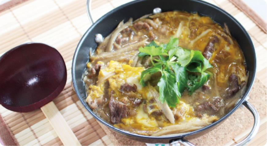ご当地レシピ!東京都 牛肉の柳川風鍋