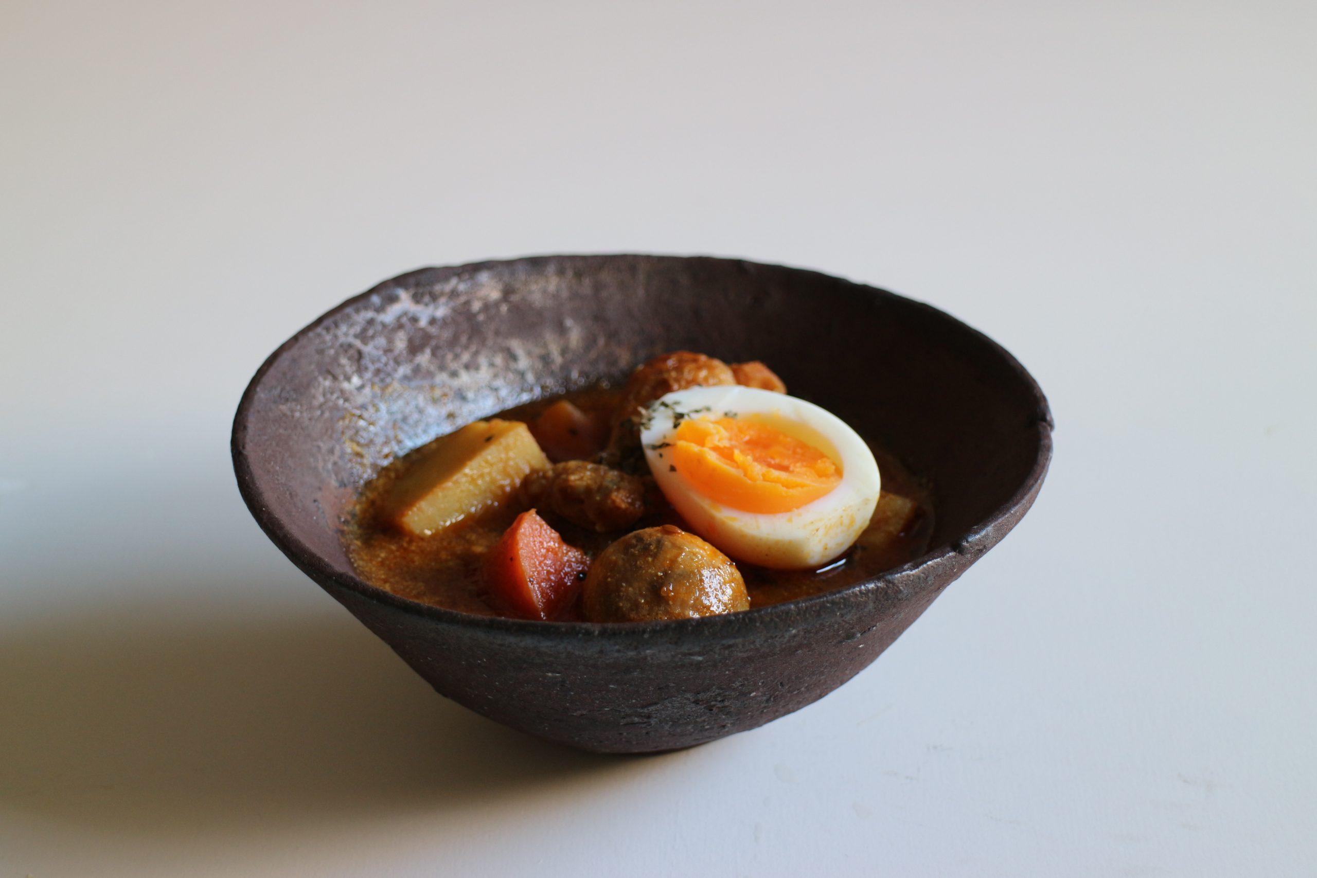 手羽元とゴロゴロ野菜のスープカレー